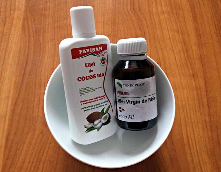 masca par ulei cocos
