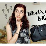 What's In My Bag? | Oare ce am prin geanta?