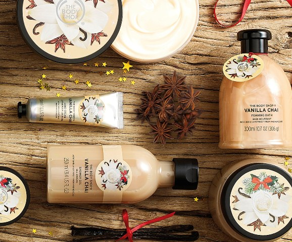colectie de Craciun The Body Shop
